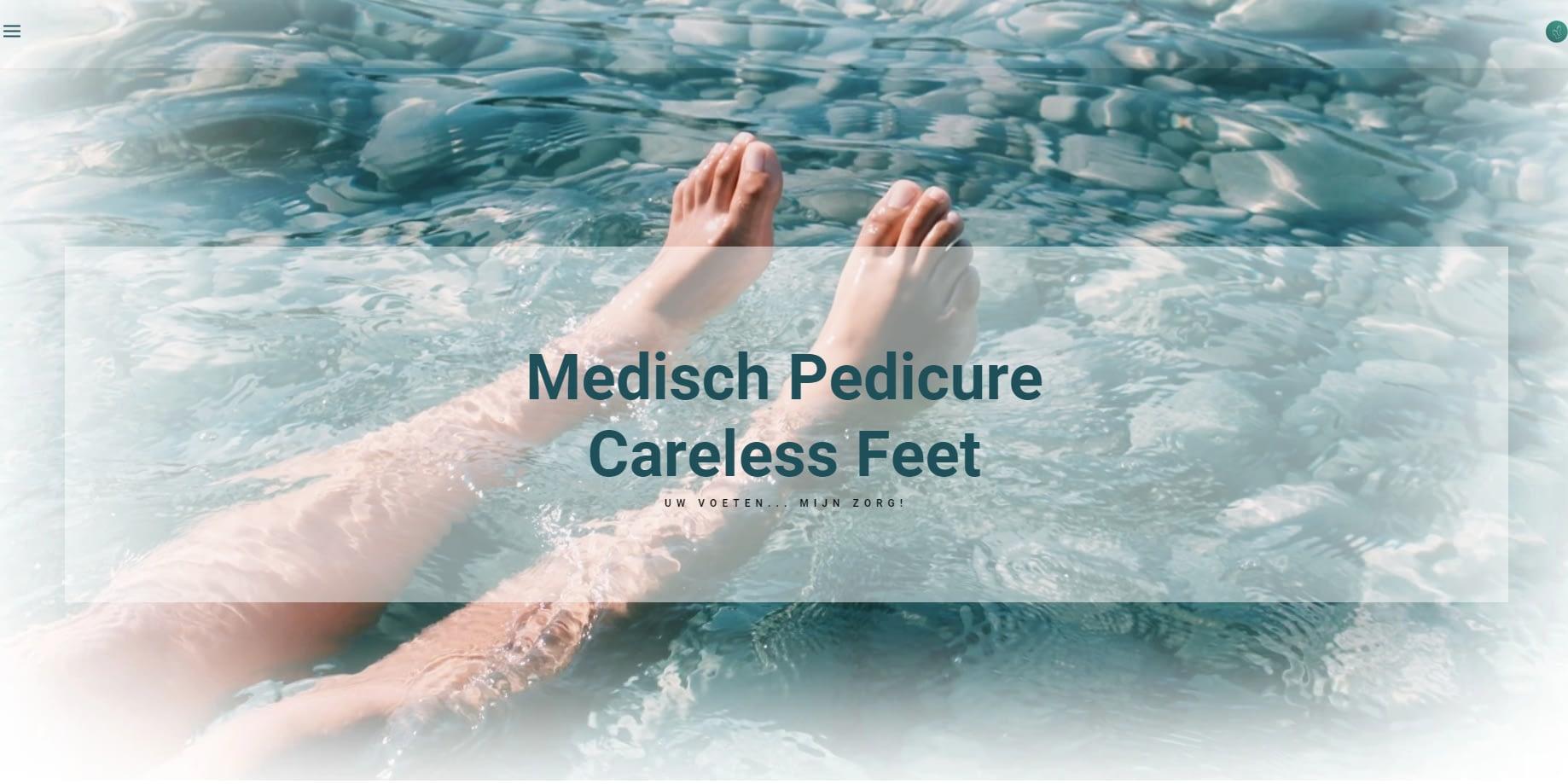 Medisch Pedicure careless feet