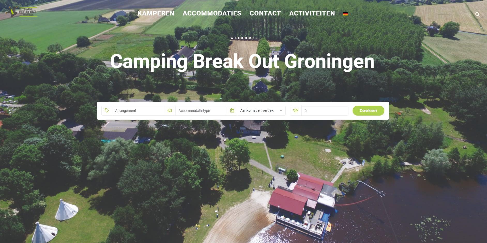 Camping Break Out Groningen